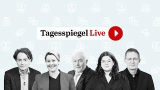 Prognose & Analyse Bundestagswahl: Franziska Giffey, SPD & Wolfgang Kubicki, FDP | Tagesspiegel Live