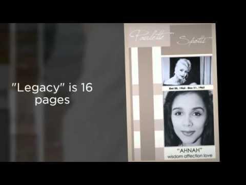 Funeral Memorial Booklet Program Obituary In Loving Memory Tribute
