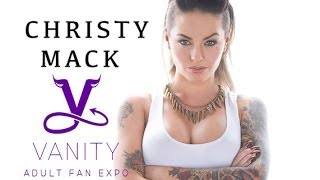One Minute with Christy Mack - 2014 Vanity Adult Fan Expo
