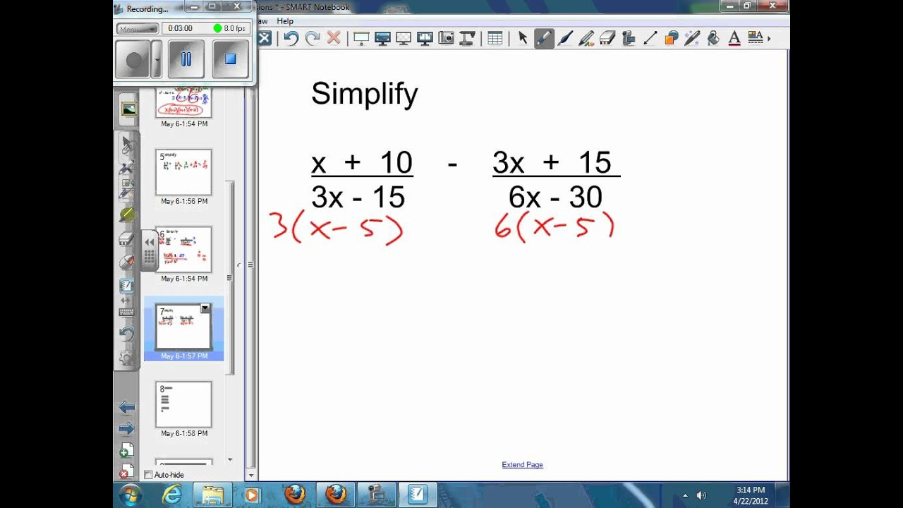 Cozy 9 5 Adding And Subtracting Rational Expressions Worksheet