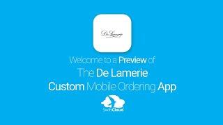 De Lamerie - Mobile App Preview - DEL026W