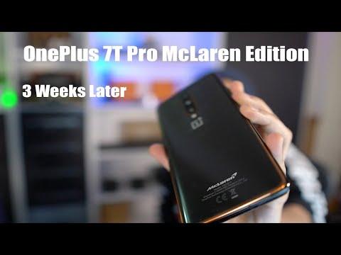 OnePlus 7T Pro McLaren Edition - 3 Weeks Update