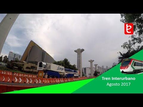 Tren Interurbano México Toluca (Santa Fe) Agosto 2017 | www.edemx.com
