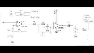 Download How To Make Low Pass Filter For Subwoofer With