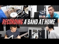 Recording Your Band In A Home Studio - TheRecordingRevolution.com