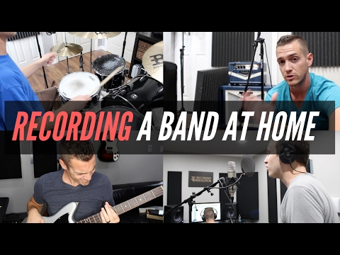 Recording Your Band In A Home Studio – TheRecordingRevolution.com