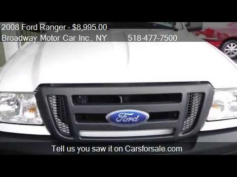 2008 ford ranger xlt 2wd w cap leather for sale in for Broadway motors rensselaer ny