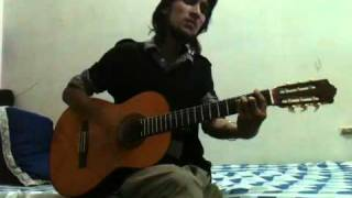 tune mere jaana(rohan rathor) on guitar.....by arpit