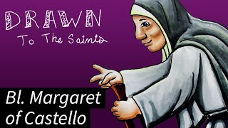 Drawn to The Saints - Blessed Margaret of Castello (Copic Marker Illustration)