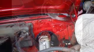 Plumbing the new master cylinder 61 Chrysler