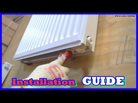 How To Hang Panel Radiators And Understand Piping Configurations