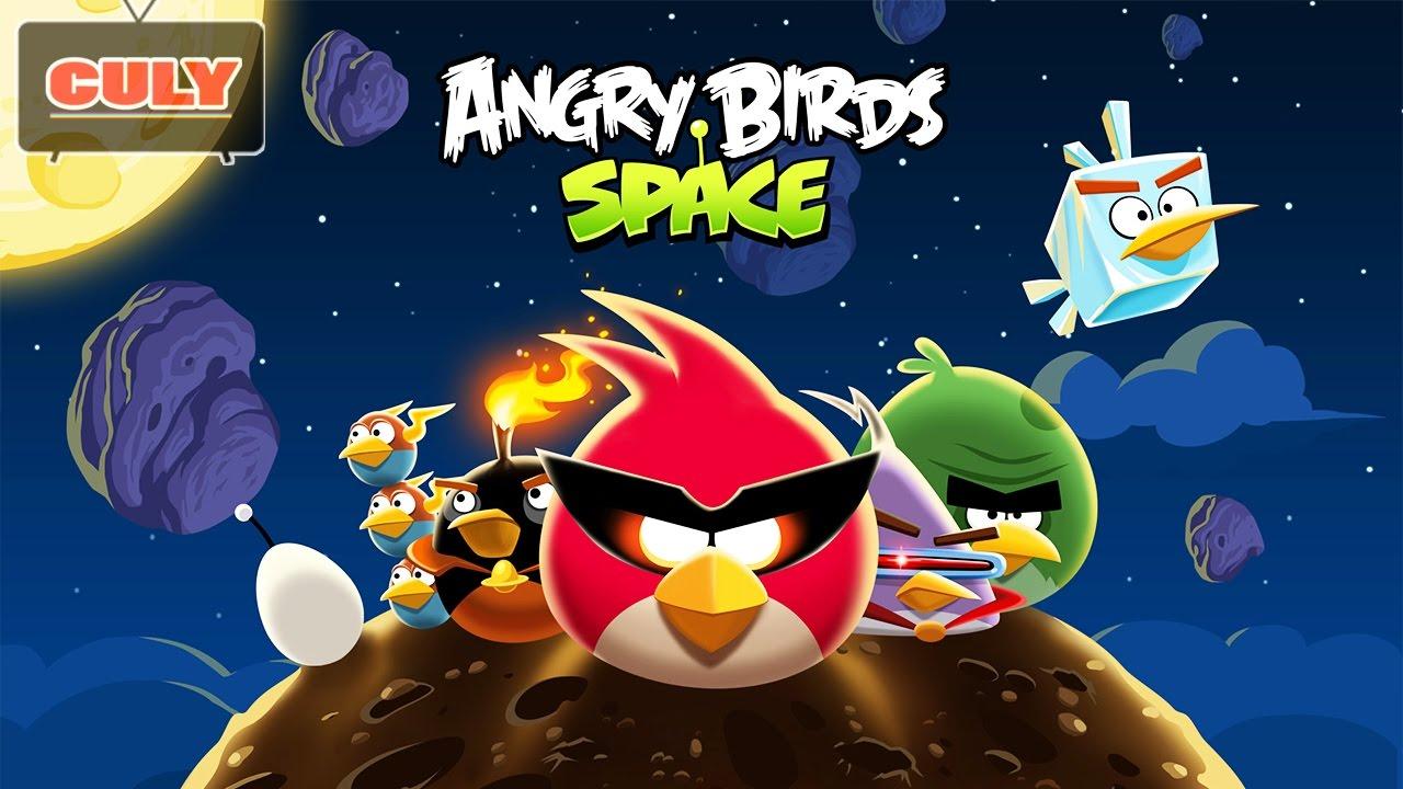 Angry Bird Space Những Chú Chim Nổi Giận | Cu lỳ chơi game #19 | gameplay funny