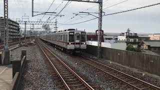 【2017年10月6日】定期回送東武10050系11656F+11266F回送通過