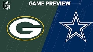 2017 NFL Dallas Cowboys vs Green Bay Packers Divisional Playoff Predictions & Preview
