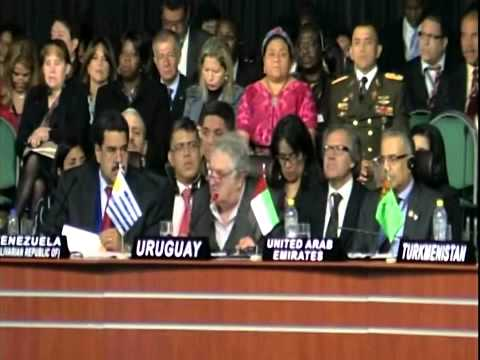Discurso del Presidente Jose Mujica (Pepe Mujica) Cumbre G77 + China, Bolivia