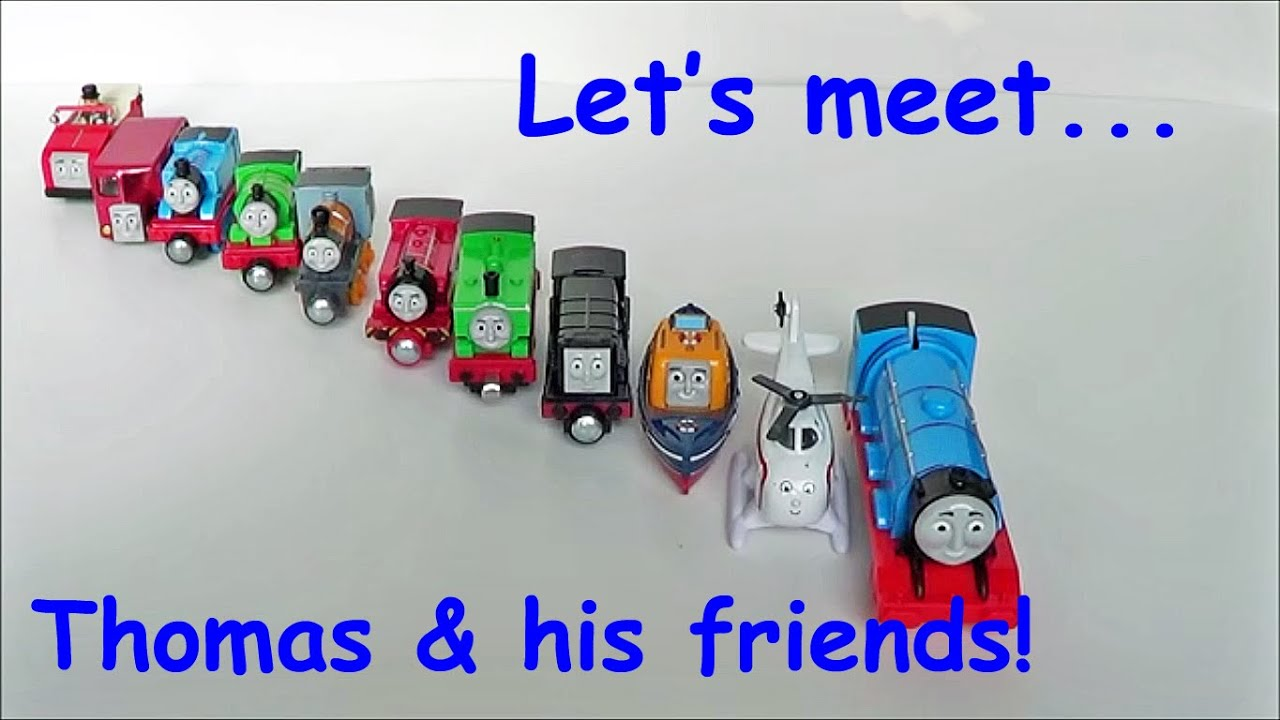 thomas and friends learn thomas the tank engine and his friends 39 names youtube. Black Bedroom Furniture Sets. Home Design Ideas