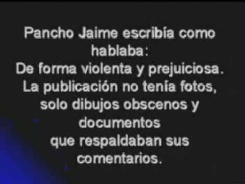Pancho Jaime y su Revista Censura