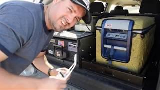 A good option to power your overland fridges. 4Runner overland set-...