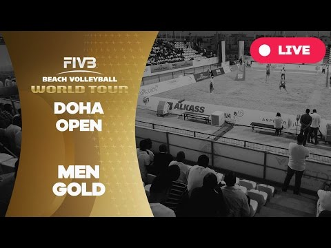 Doha Open - Men Gold - Beach Volleyball World Tour