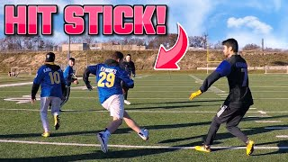 THE MUST WATCH GAME OF THE YEAR! Back Yard Tackle Football Championship