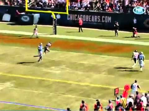 Lions vs Bears Calvin Johnson ROBBED TOUCHDOWN! WORST CALL EVER 9/12/10