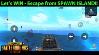 Escape From SPAWN ISLAND!!! AKA the Ending of the Spawn Island Loot Video!! | PUBG Mobile Lightspeed