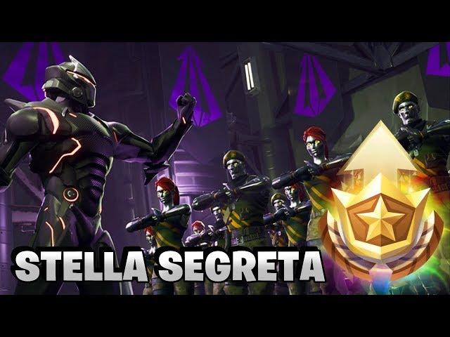 STELLA SEGRETA SETTIMANA 4 ? Fortnite Battle Royale - Pazzox