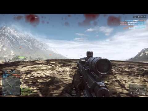 Battlefield 4 - io prendo lui e lui prende me - circa 700 m (sni