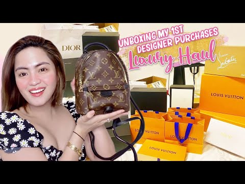 Unboxing My First Designer Purchases    Luxury Haul 💸