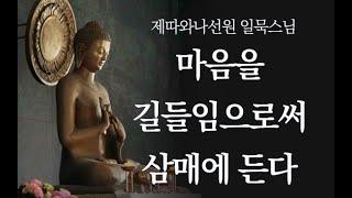 Download lagu 마음을 길들임으로써 삼매에 든다ㅣ일묵스님ㅣ2018.11.28 제따와나선원 수요정기법회