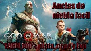 God of War - Como farmear Plata, Exp y ecos de niebla + Secreto de Anclas de niebla