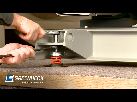 Greenheck - How To Adjust Fan Isolators
