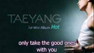 Taeyang- Baby I'm Sorry *English subs* audio MP3