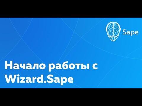 Обучающее видео. Начало работы с Wizard.Sape