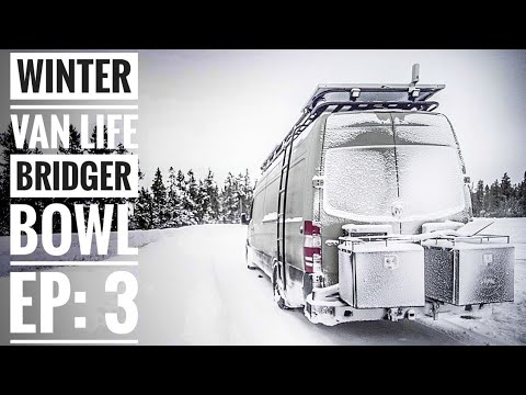 Ep 3: Winter Vanlife is More Than Skiing Powder - Bridger Bowl | Adventure in a Backpack