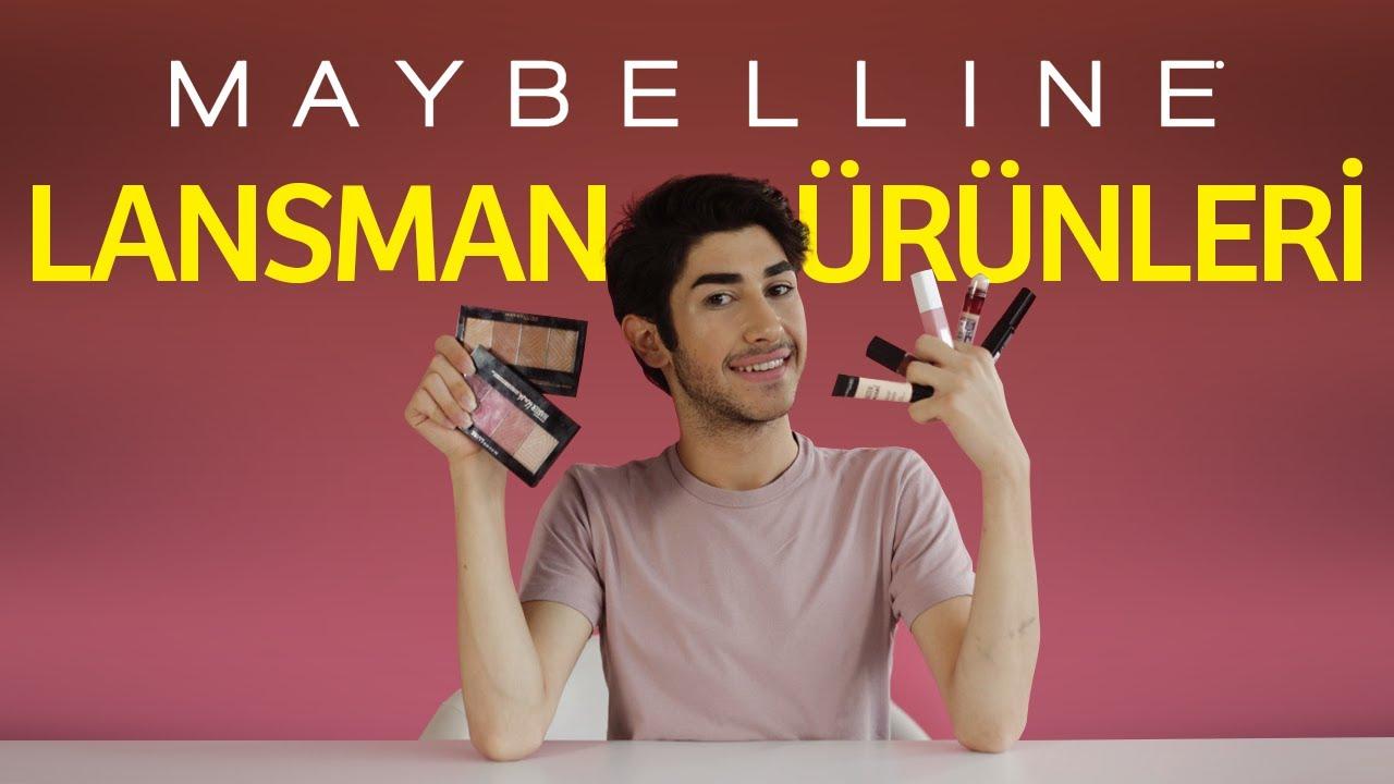 Maybelline Lansman ürünlerini Deniyorum Ruj Aydınlatıcı