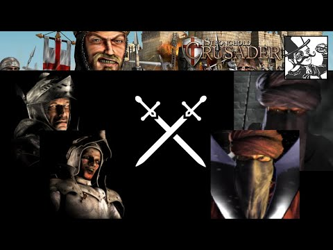 Stronghold Crusader HD - AI Tournament - Round 1: The Villain and his Lackey vs The Fanatics |
