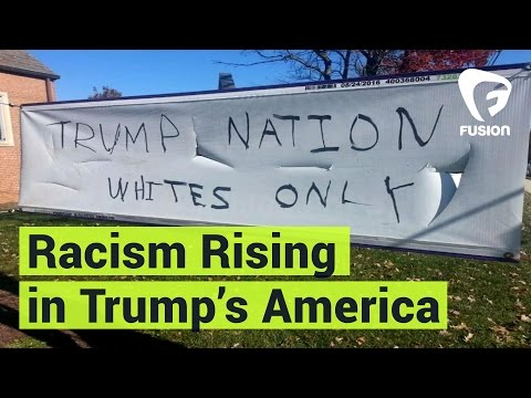 Racist Attacks Continue: Donald Trump