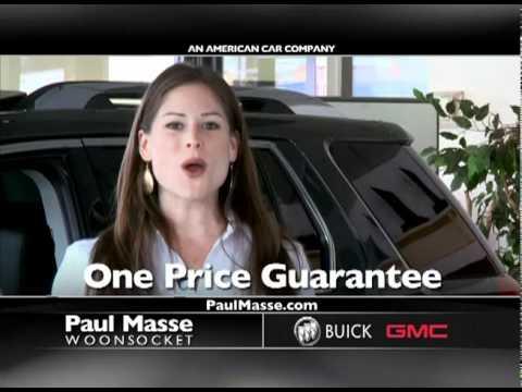 Paul Masse Gmc >> Paul Masse Buick GMC TV commercial.mov - YouTube