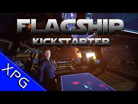 Flagship - New Trailer and KickStarter (First Person Sins of a Solar Empire Mixed with Homeworld)