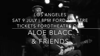 Aloe Blacc - Ford Theater Rehearsal with Fabiano do Nascimento