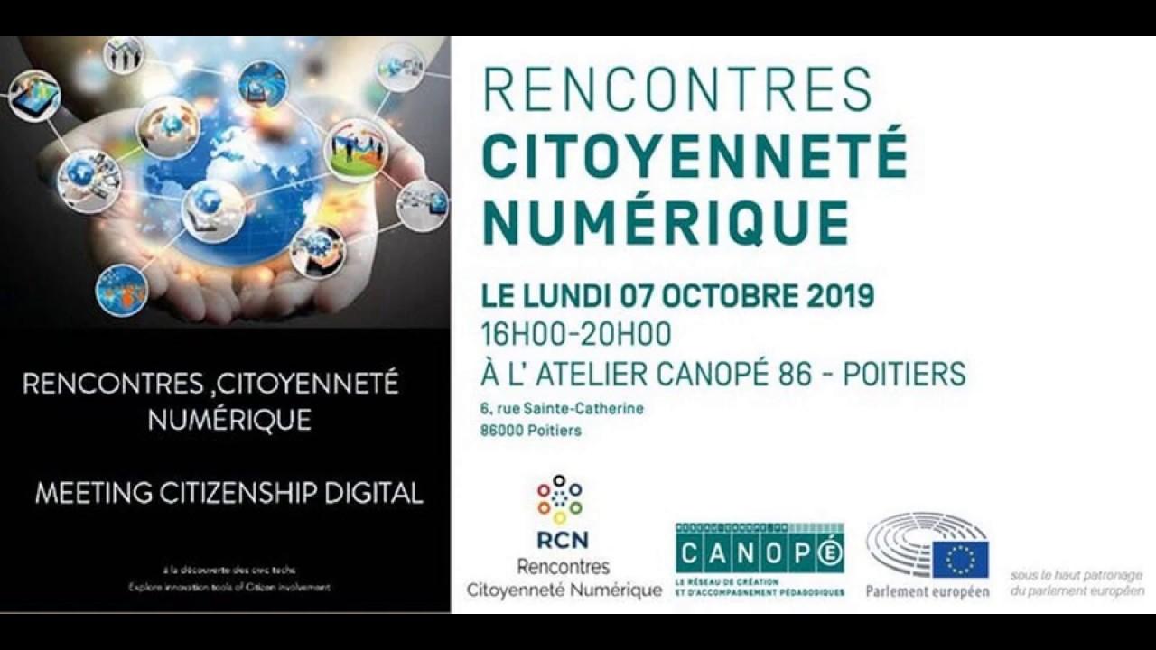 Poitiers accueille les Rencontres nationales du numérique