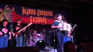 Ruben Vela Jr. Y Su Conjunto at Tejano Conjunto Festival 2015