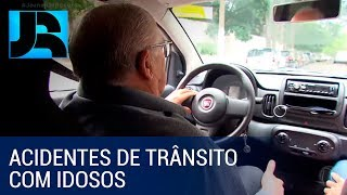 Aumenta o número de acidentes de trânsito envolvendo idosos