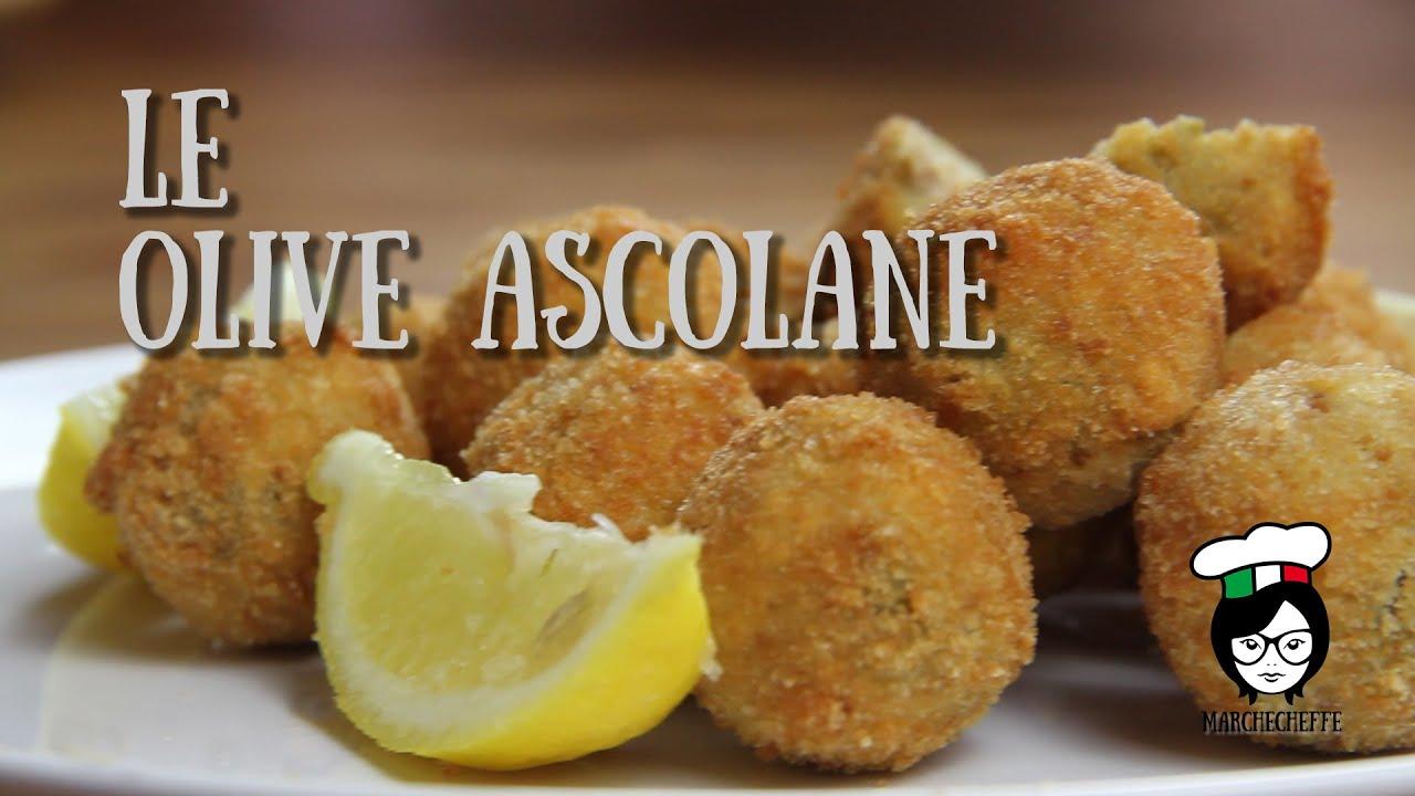 Ricetta Olive Ascolane Youtube.Ricette Marchigiane Le Olive Ascolane Youtube
