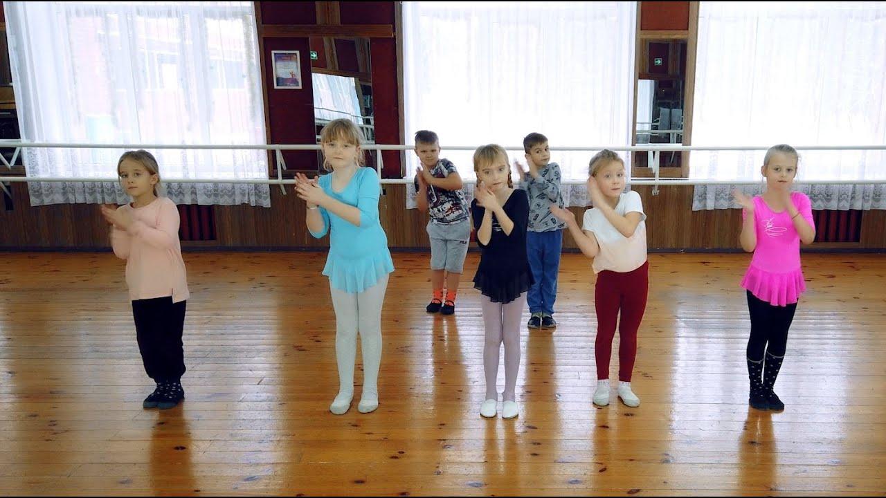 Игра танец Пяточка носочек