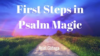 First Steps In Psalm Magic