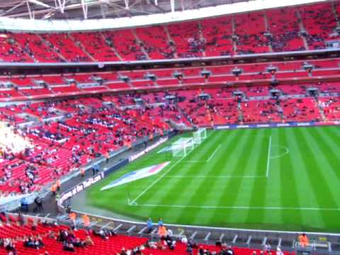 view of wembley england vs slovakia club wembley gold. Black Bedroom Furniture Sets. Home Design Ideas