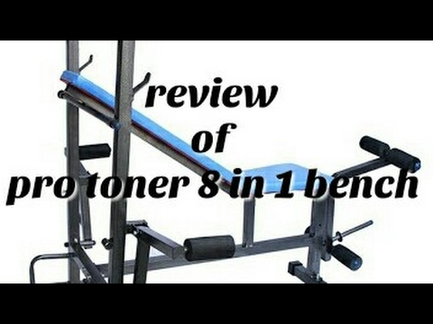 Review of pro toner 8 in 1 bench - hindi