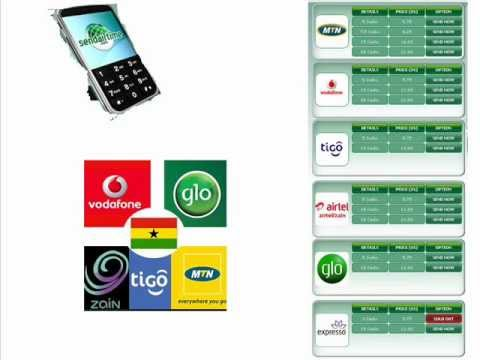 How To TopUP A Mobile Phone In Ghana